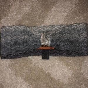 Missoni gray tone headband NWOT